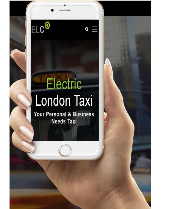 Book Electric London Taxi